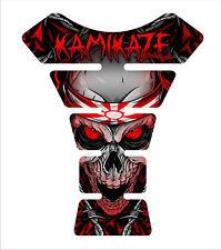Kawasaki Ninja ZX Z1000 636 3d Gel Motorcycle Red K tank pad tankpad Decal