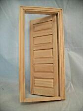 Deerfield Door w// Sidelights  dollhouse miniature #6028
