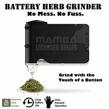 Battery Powered Herb Grinder. No Mess Fuss. One-Handed Operation. Razor Sharp