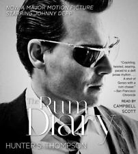 The Rum Diary by Hunter S. Thompson (2011, CD, Abridged) - NEW