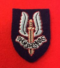 SAS OR`S Beret Badge Cloth Badge Special Air Service OR`S Badge
