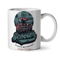Vintage Scooter NEW White Tea Coffee Mug 11 oz | Wellcoda