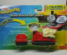 THOMAS & FRIENDS ADVENTURES DINO DISCOVERY T-Rex JAMES 'Talking' Metal Engine.