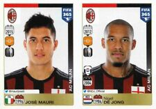 Panini Sticker Fifa 365 2016 Nr. 590 Jose Mauri & 591 Nigel De Jong NEUWARE Bild