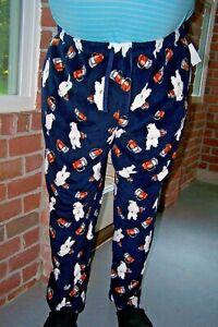 Sears Joe Boxer Big Men's Plush Pants Novelty NEW w/Tags Sleep In or Wear Sz. 3X