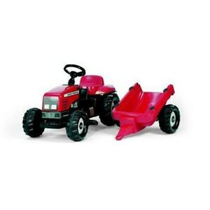 Rolly Toys Rolly Kid Massey Ferguson Tractor and Trailer
