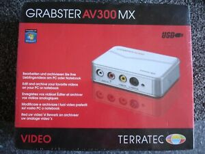 Terratec Grabster AV300MX USB Video Converter Capture Device