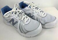 New Balance 7.5 Walking Shoe White Gray WW496WB3