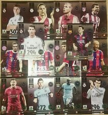 Set 14 Cards Limited Edition Messi Adrenalyn XL Champions League 2014-15 Update