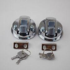 2 Pieces Flush Pull Hatch Latch Lock For Boat Marine Yatch Hardware