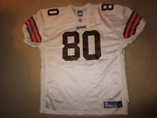 Cleveland Browns #80 NFL Premier Game Reebok Sewn Jersey 48 XL