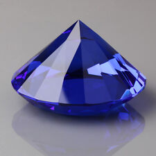 60mm Blue Crystal Diamond Shape Paperweight Glass Gem Display Gift Ornament
