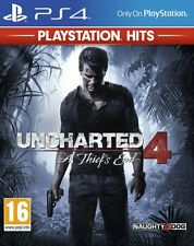 Uncharted 4: A Thief's End - Playstation Hits (PS4)  BRAND NEW AND SEALED