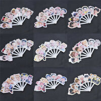 1pc GOT7 Member Printed Mini Hand Fan PVC Portable Fan Summer Jackson JB Mark