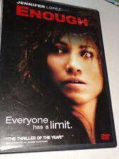 DVD ENOUGH (2002  PG-13 D3GD) Jennifer Lopez Billy Campbell Juliette Lewis
