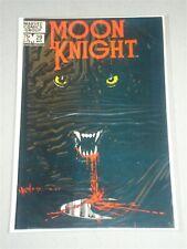 MOON KNIGHT #29 VOL 1 MARVEL SIENKIEWICZ ART MARCH 1983