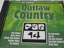 Various - Outlaw Country - Fab 14 - NM (CD)