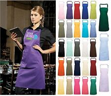 PERSONALISED BUSINESS APRON WITH POCKET