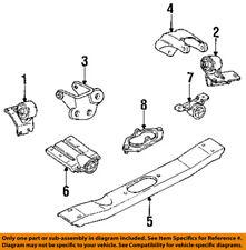 Jeep CHRYSLER OEM 93-95 Grand Cherokee Engine Motor Mount-Rear Bracket 52018096