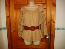 Ladies jumper and belt by Red Chilli fit size 12-14 vgc