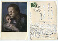 24847 - Picasso: Maternidad - Ansichtskarte, gelaufen Bremen 3.11.1969