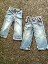 2 X Boys Jeans 2-3 Years Marks And Spencers