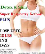SUPER RASPBERRY KETONE PLUS 1000MG DIET PILLS ULTRA FAST SLIMMING TABLETS
