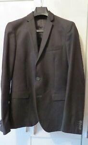 Calvin Klein Men Suit Grey Size 36