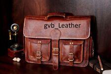 Leather Stunning Messenger Bags Men Shoulder Crossbody Vintage Brown Satchel Bag