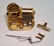 """Sankyo 18 Note Movement With Reuge Wire Stopper-""""Star Spangle Banner"""""""