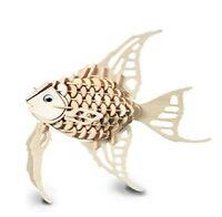 Angel Fish Woodcraft Construction Kit 3D Wooden Model. FSC Certified