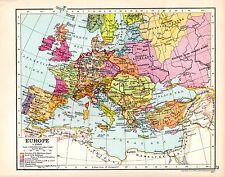 HISTORICAL MAP ~ EUROPE ~ c1360