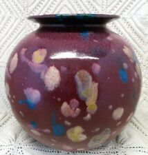 STEIN SIGNED SPECIALTY MADE EARLY 20TH CENTURY LARGE ART POTTERY VASE
