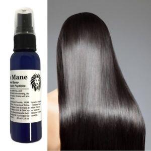Copper Keratin Hair Spray on Treatment ModelSupplies Model's Mane Smooth Shiny 2
