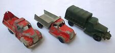 Toy Truck Lot of 3 - Tootsietoy (Chicago) P-10290, 1-24, etc.