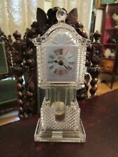 "Crystal Legends Of Godinger Crystal Pendulum Clock Batteries, 11"" [*Reloj]"