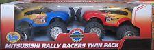 KIDS STUFF - MITSUBISHI RALLY RACERS TWIN PACK - FRICTION POWERED