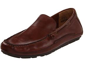 Fossil Dean Driver Leather Cognac Mens Shoes size US 7.5-13