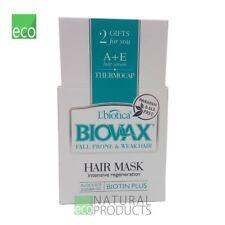 L'biotica Biovax Pelo Natural Máscara Anti Pérdida de Cabello 250 Ml Regeneración Intensiva