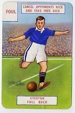 RARE Football Playing Card - Everton 1946-7