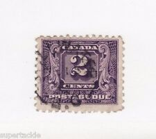 Canada 1930 #J7 Θ used F,  2 Cent Postage Due stamp. cds Stillwater BC