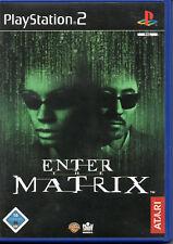 Enter the Matrix PlayStation 2 juego ps2