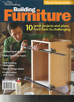 THE BEST OF FINE WOOD WORKING MAGAZINE,  BUILDING FURNITURE   SPRING, 2017