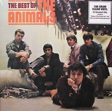 The Animals BEST OF 180g 15 GREATEST HITS Essential NEW SEALED CLEAR VINYL LP