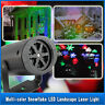LED Moving Laser Projector Light Landscape Garden Yard Xmas Halloween Outdoor RT