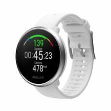 POLAR Ignite weiß/silber white/silver M/L Fitnessuhr GPS Pulsmessung