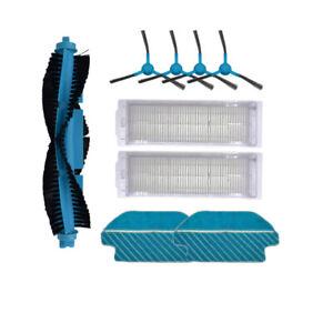 HEPA Filter Brush Kit for Cecotec Conga 3490 Robotic Vacuum Cleaner Spare Parts