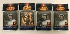Star Wars LE Art Sleeves Princess Leia + Luke Skywalker - Lot of 4 Pks NIP