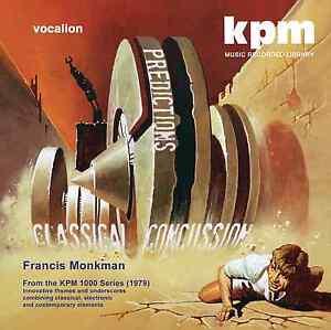 Francis Monkman - Classical Concussion & Predictions - CDSML8520