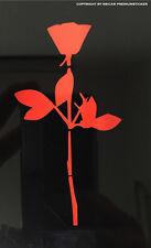 2x Auto Aufkleber Sticker Folie Rose Bowl Depeche Mode Car Deko Violator DM